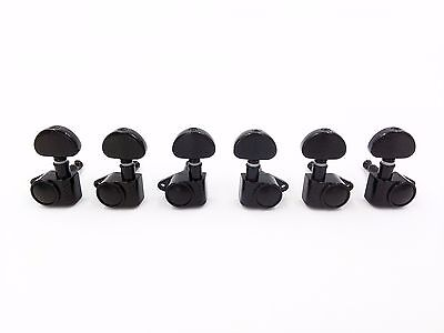 3L&3R Black Grover Guitar String Tuning Pegs Tuners Keys Machine Heads