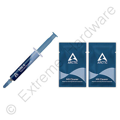 2 x Pack Arctic Cooling MX-4 2019 Thermal Compound 4g Tube Artic Paste No Silver