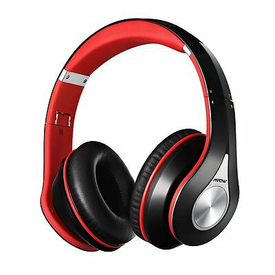 Mpow Wireless Bluetooth Headphone Stereo Headset Earphone Foldable Portable /Mic