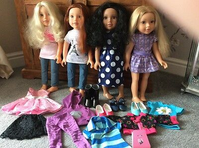 Chad Valley Design A Friend Doll Bundle With Clothes Shoes