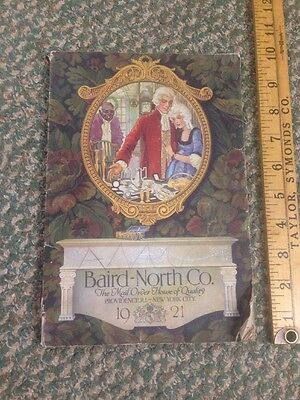 1921 BAIRD NORTH CO MAIL ORDER JEWELRY & GIFT CATALOG Ring Size Card