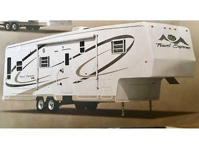 Travel Supreme Classic Fifth Wheel - Excellent for Long Stays, Full-Time Living