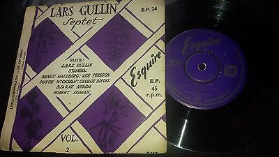 LARS GULLIN SEPTET  Vol.2 Original UK 1954 Esquire E.P. 24  very rare