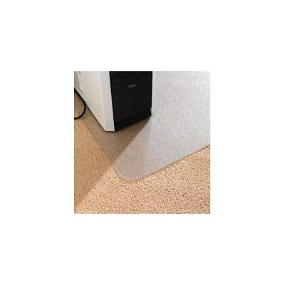 Floortex Chair Mat for Carpet Protection Anti Static with Lip 1150x1340mm Clear