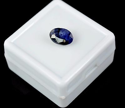 1.90 CT. Natural Oval Certified Ceylon Blue Sapphire Loose Gemstone-FATHER'S DAY