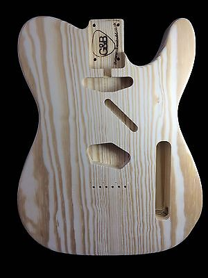 Guitar Body Telecaster / yellow pine /2pc/2.6kg/003615