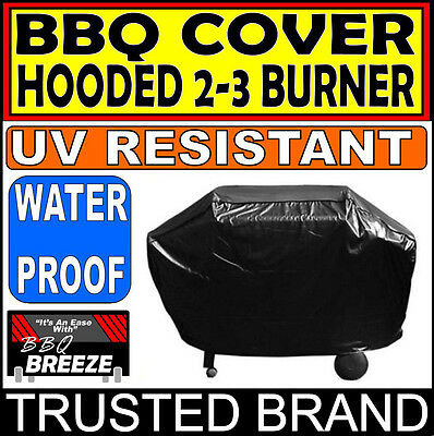 Hooded BBQ Covers 2-3 Burner Cover UV PROTECTION for all seasons