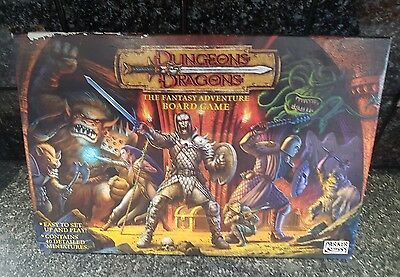 Dungeons & Dragons, fantasy adventure board game by Parker