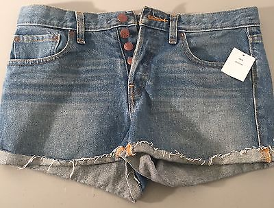 URBAN OUTFITTERS BDG NWT SHORTS 26W Jean Button Up S8
