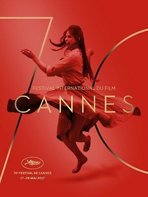 CANNES 2017 AFFICHE CINEMA Originale PLIEE 53x40 FOLDED MOVIE POSTER