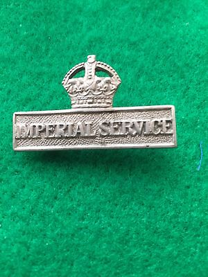 Genuine ww1 Imperial Service Badge