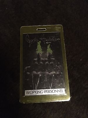 Rare Jane's Addiction working personnel badge Nothings Shocking