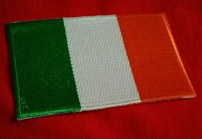 "Ireland Flag Embroidered Patches 3.5""x2.25"" IRISH FLAGS St.Patty's Day"
