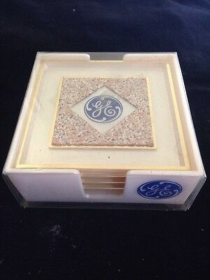 Vintage Coaster Set From General Electric ~ RARE