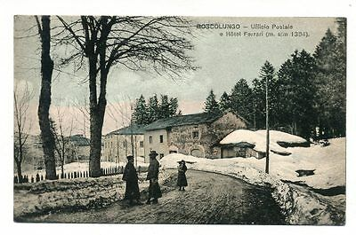 """ITALY """"BOSCOLUNGO-POST OFFICE"""" OLD P/c Posted:1906"""