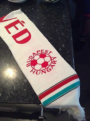 Honved Scarf Bought In 1983 At The European Cup Game V Manchester United