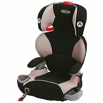 Graco Affix Youth High Back Booster Car Seat with Latch System, Pierce