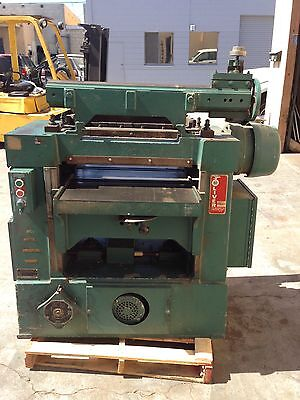 "Oliver Model 299-D 24"" Wood Planer 7.5 H.P.  Made in USA"