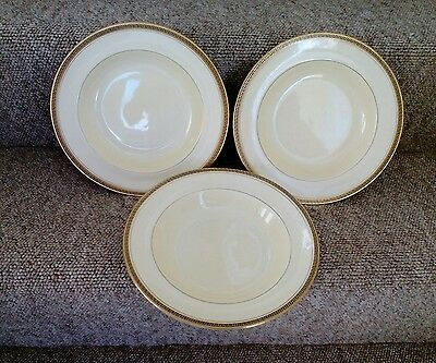 3 Vintage Adderley China Bowls No'd 09849.