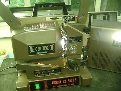 Eiki Ex 5500S Slot Load 550 Watt Xenon New  (Universal Voltage & Guaranteed)