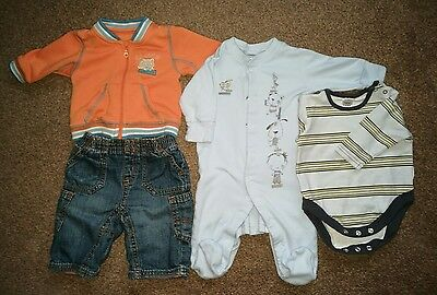 Next baby boy small bundle of clothes up to 3months
