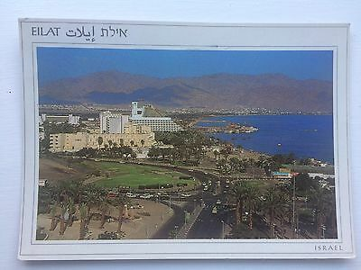 Postcard Eilat Israel With Unfranked Stamp 1980's
