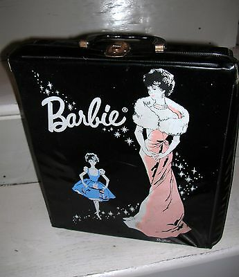 valise barbie vintage Mattel pour Barbie Ponytail ou Barbie Bubble cut 1962