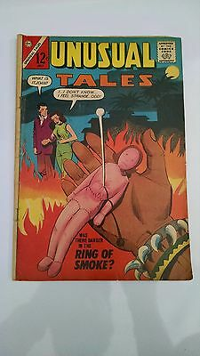 UNUSUAL TALES #40 JULY 1963 CHARLTON COMICS VOODOO  COVER excellent condition