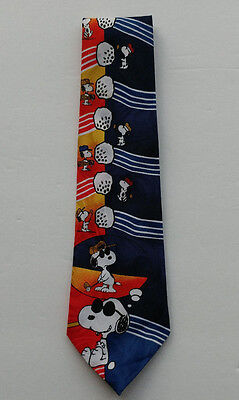 1958 United Feature Syndicate Snoopy Tie 100% Polyester 22033