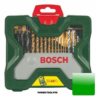 Bosch X40Ti Piece Masonry-Metal-Wood Drill Driver Set 2607019600 3165140445436 '