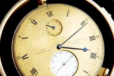 Lagend small Marine chronometer Eiffe The Founder Guard gilded dial