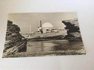Real Photograph Postcard  Dounreay Experimental Reactor Establishment, Caithness
