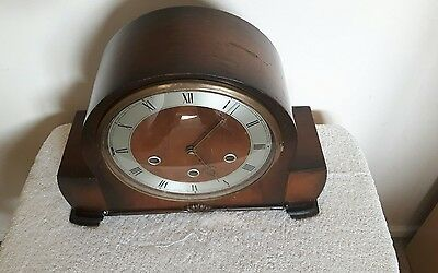 Smiths Westminster Chime Mantel Clock in good working order.