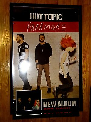 Paramore: Self Titled Record 2012 Hot Topic Promo Poster. All We Know Is Falling
