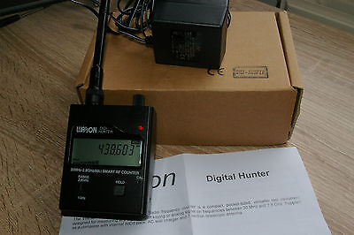 Watson Digi-Hunter Frequency counter with signal level meter 30Mhz - 2.8Ghz