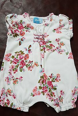 Albetta Baby Girls 0-3 Months Summer Playsuit Cute Quality