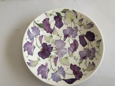 Roy Kirkham Fine Bone China Sweet Pea Saucer (Large),Diameter 6.3/4""