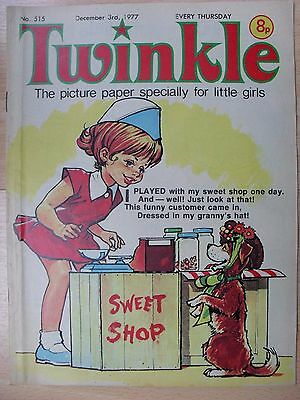 TWINKLE COMIC - 3rd DECEMBER 1977 (3rd - 9th) - RARE LADY'S 40th BIRTHDAY GIFT!!
