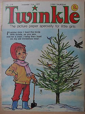 TWINKLE COMIC - 31st DECEMBER 1977 - RARE LADY'S 40th BIRTHDAY GIFT!!