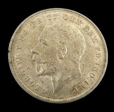1935 Great Britain Crown 925 Silver Coin KM 842