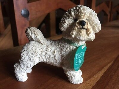 "Country Artists Best In Show ""bichon Frise"" Dog Figure"