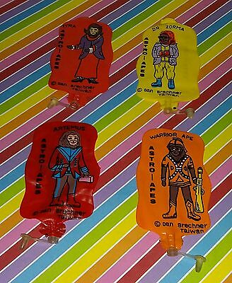 Vintage Set of 4 Astro Apes Inflatable Figures (Planet of the Apes ) Zora Myra