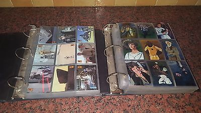 Star Wars Topps Collectors Cards & Trading Card Game  2 Folders 640 Cards Plus