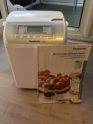 Panasonic Automatic Bread Maker SD255 with Nut Dispenser