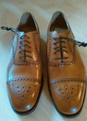 Loake  Gunny Mens Design Smart Lace Up  Leather Formal Shoes Size 10  Brand New