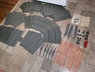 Large Vintage Revell 1964-1966 Slot Car Tracks & Some Accessories Lot