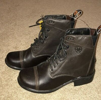 New  Ariat Heritage paddock boots 6.5 brown