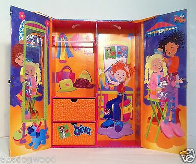 EUC HTF RARE Groovy Girls Doll Wardrobe Carrying Case House Manhattan Toy Co.