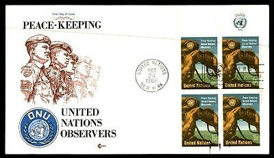 United Nations peacekeeping New York October 24, 1966 first-day cover