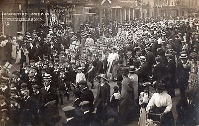 worksop notts a superb card of coronation sumner card real photo
